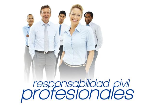 Seguros responsabilidad civil profesionales
